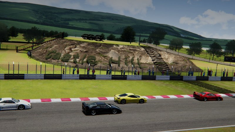 Assetto Corsa Castle Hill