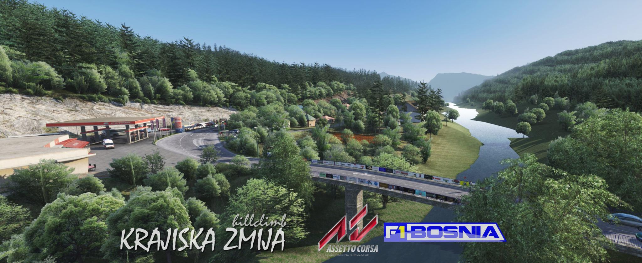 Krajiska Zmija Hillclimb - Assetto Corsa Mods