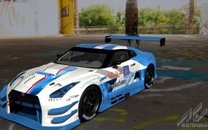 Nissan GTR GT2 icu2 touring car