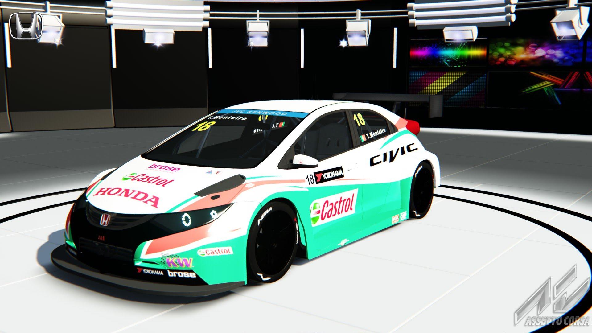 Assetto Corsa Honda Civic WTCC TC1
