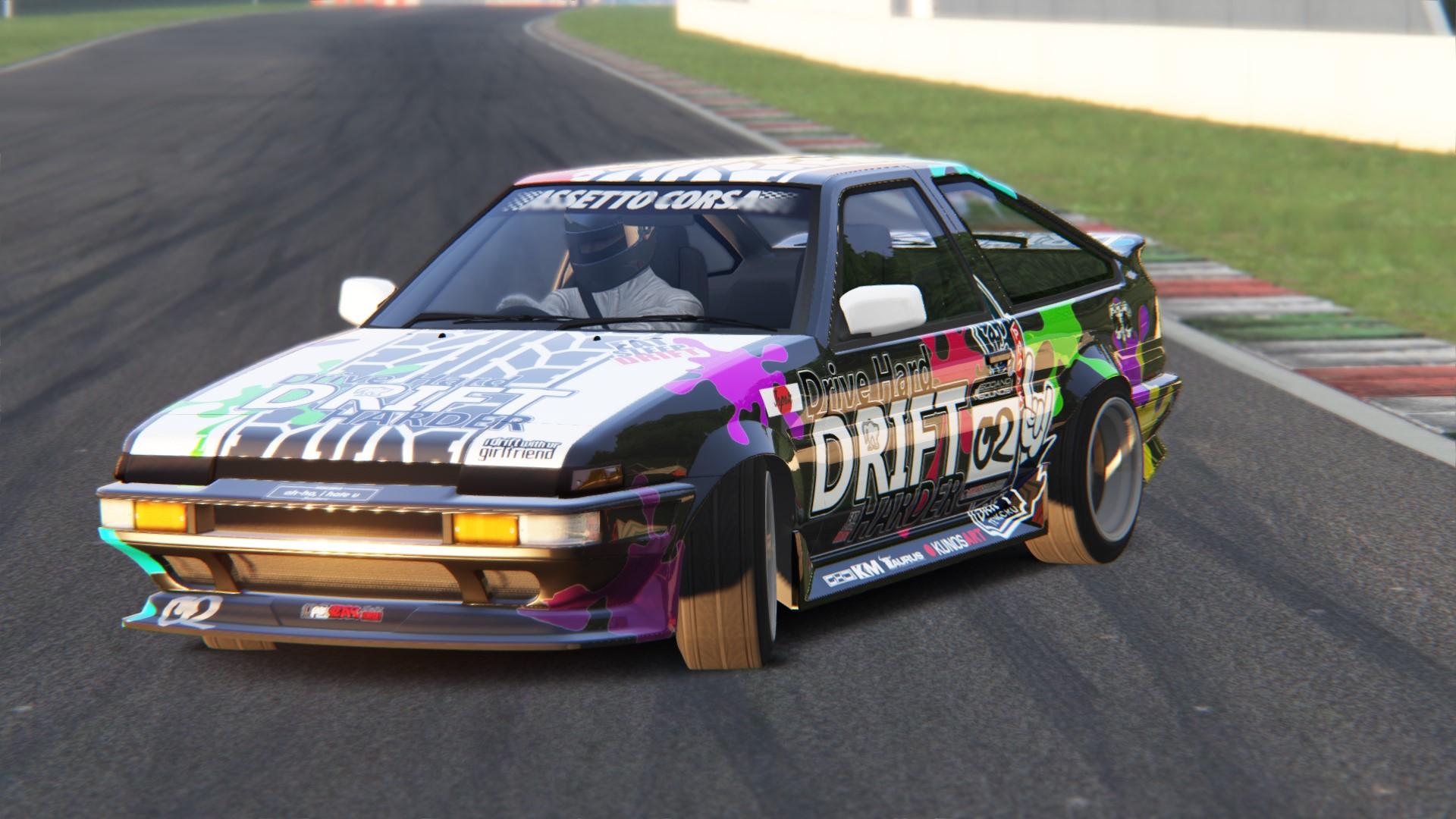 Assetto Corsa AE86 RB26 DRIFT