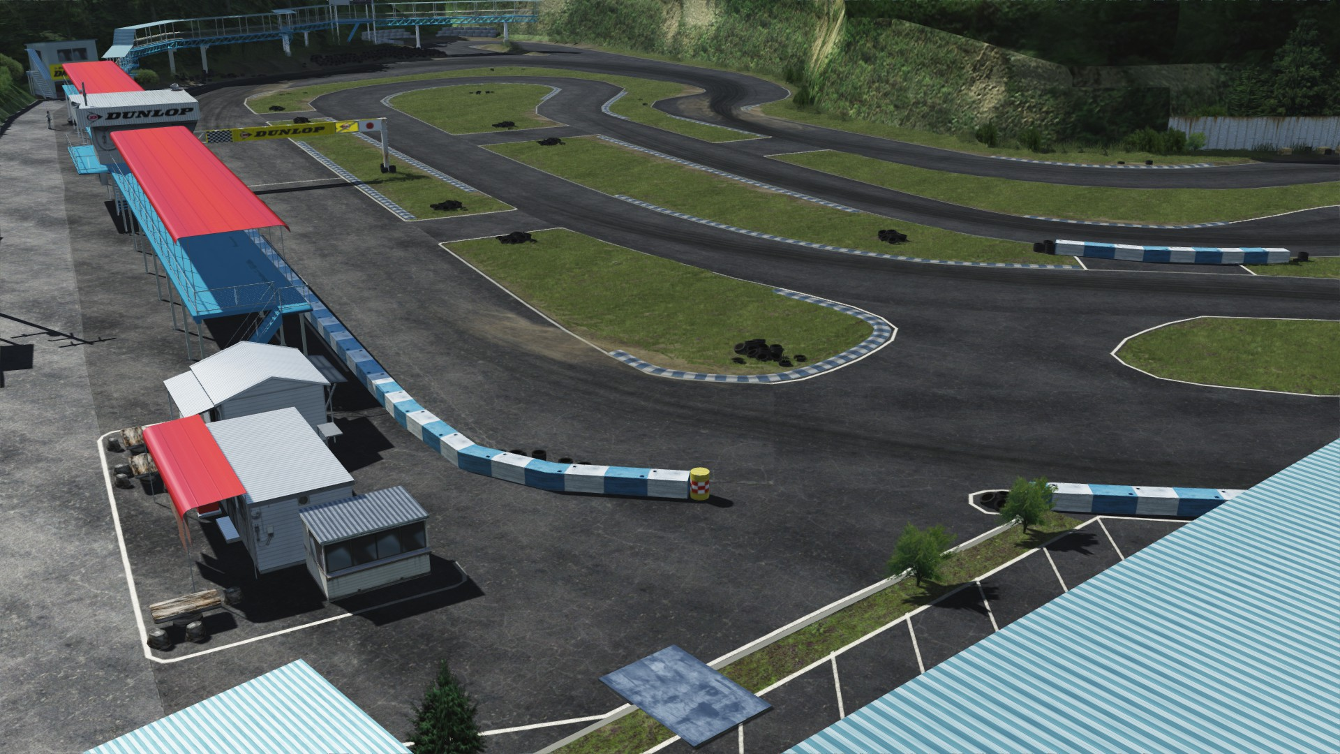 Assetto Corsa Setonaikai Kartland Circuit