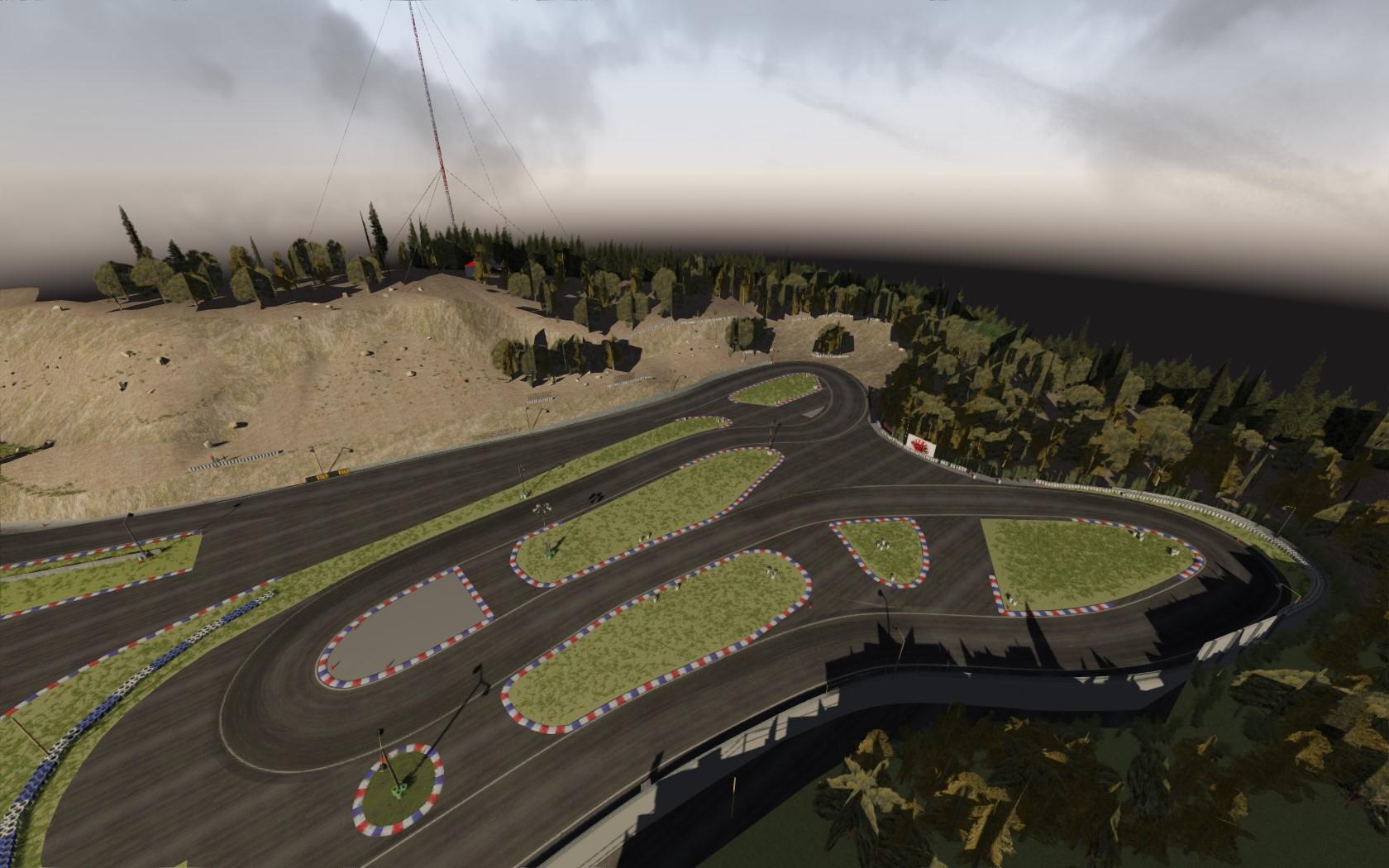 Tokushima Kartland Drift Circuit - Assetto Corsa Mods
