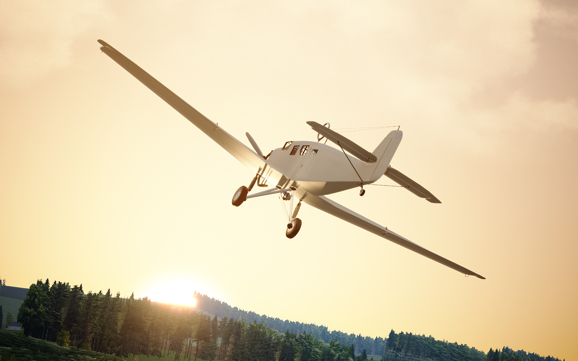 Assetto Corsa Test Plane