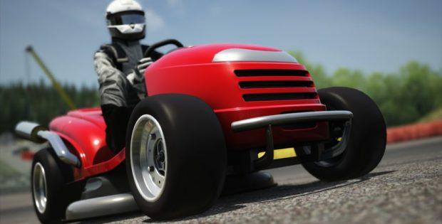 Assetto Corsa Honda Racing Lawn Mower