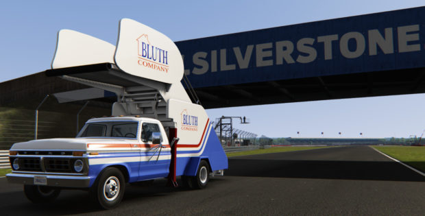 Assetto Corsa Ford F350 Stair Truck