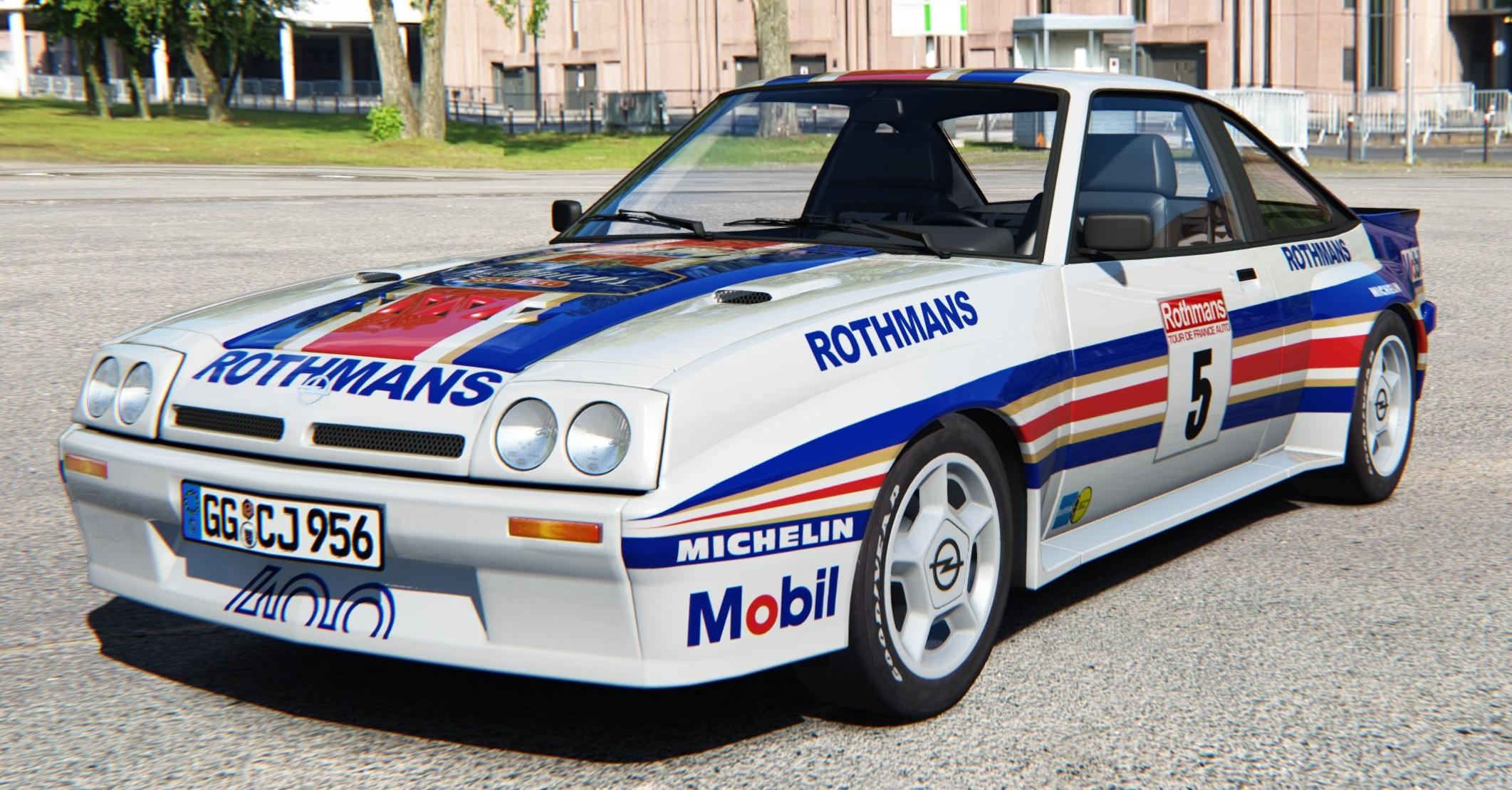 Assetto Corsa Opel Manta