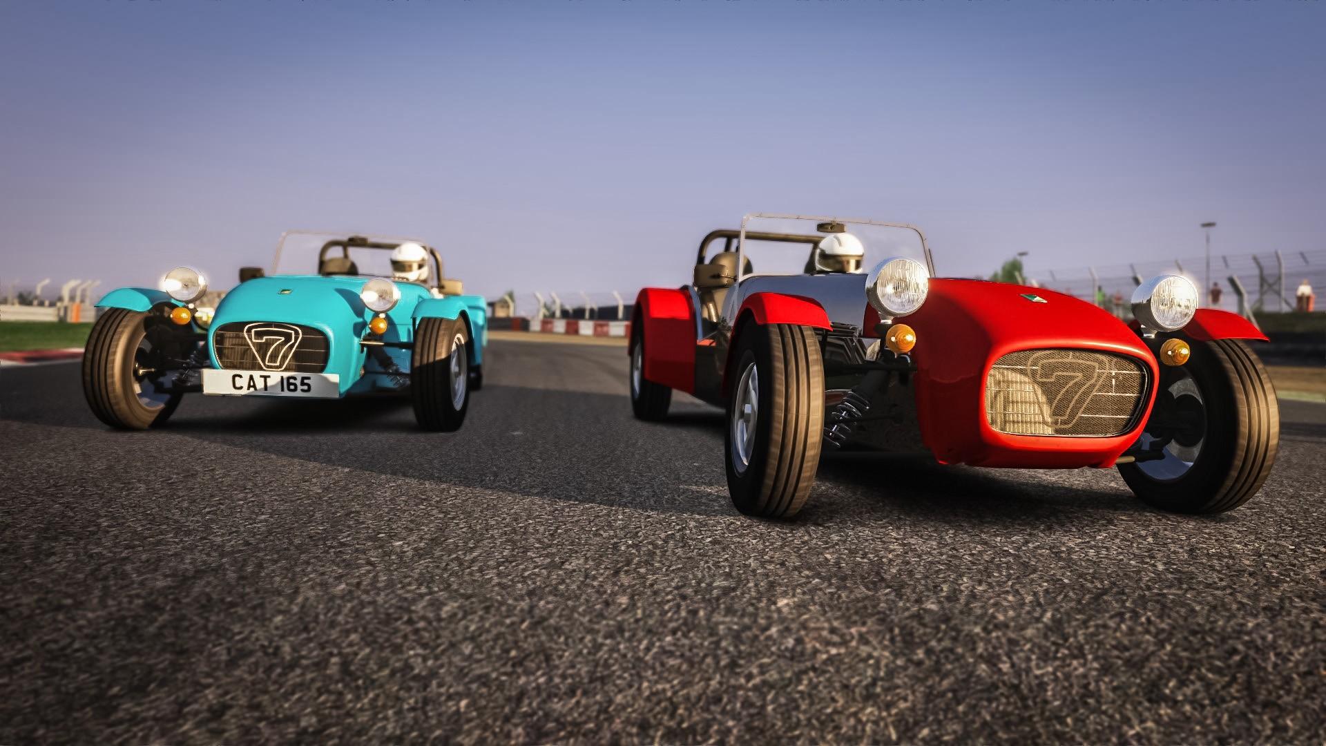 Assetto Corsa Caterham Seven 165