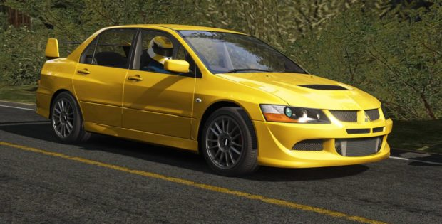 Assetto Corsa Lancer Evolution VIII