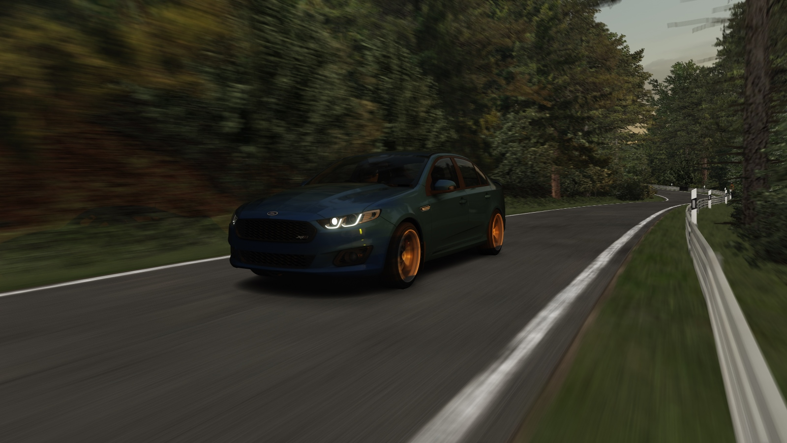ford falcon fgx pack assetto corsa mods